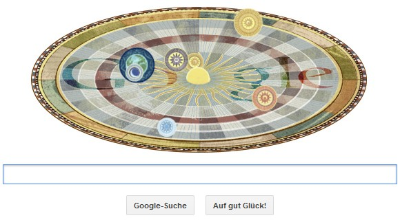 google-doodle-kopernikus